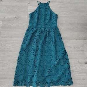 Loft embroided dress